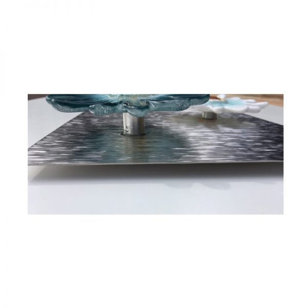 Ripple Stainless Steel Background for Glass Art